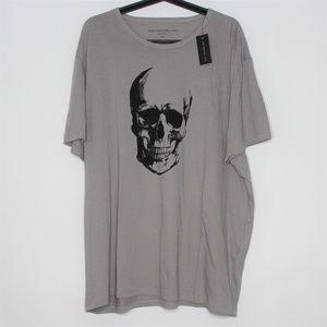 John Varvatos Star USA Skull T-Shirt NWT $68 R1024